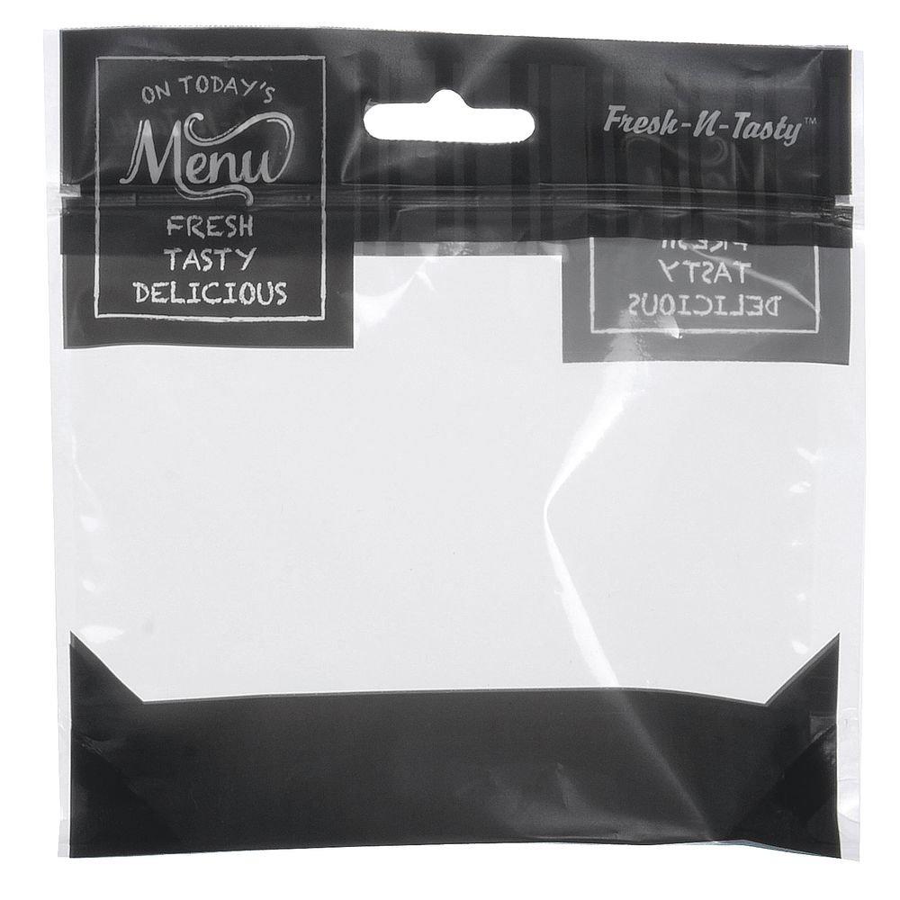 6'' x 6'' x 2'' Flexible Bakery Bag Mini ''Today's Menu'' (500/Pack) - HUB-63488