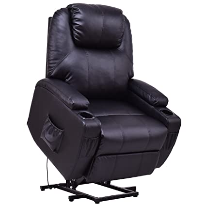 amazon com giantex electric power lift recliner chair for elderly