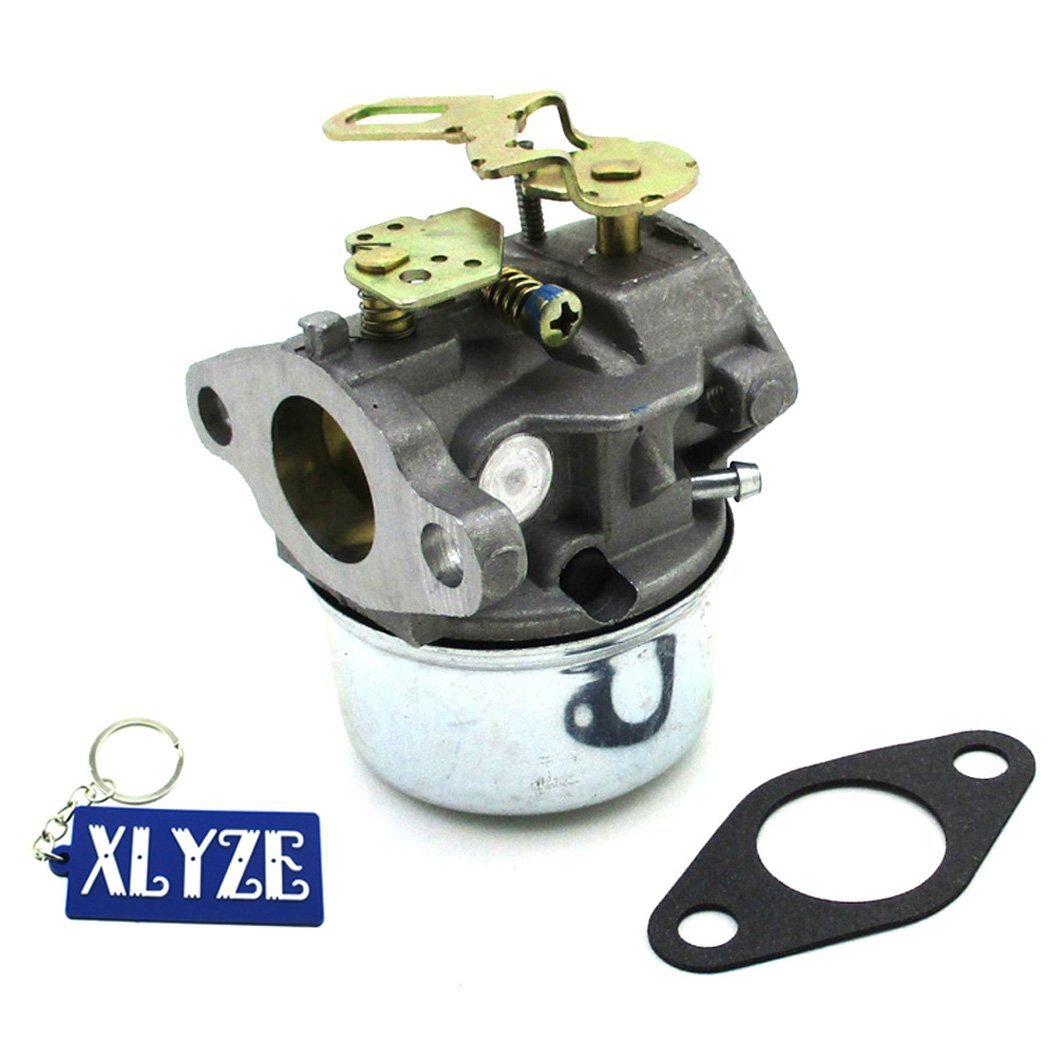 Xlyze Carburateur avec joint pour Tecumseh 640105 632536 Ohsk110 Ohsk120 Ohsk125 Oh358sa Toro 421 Toro 521 Snow Blower Carb 632107 632107 A