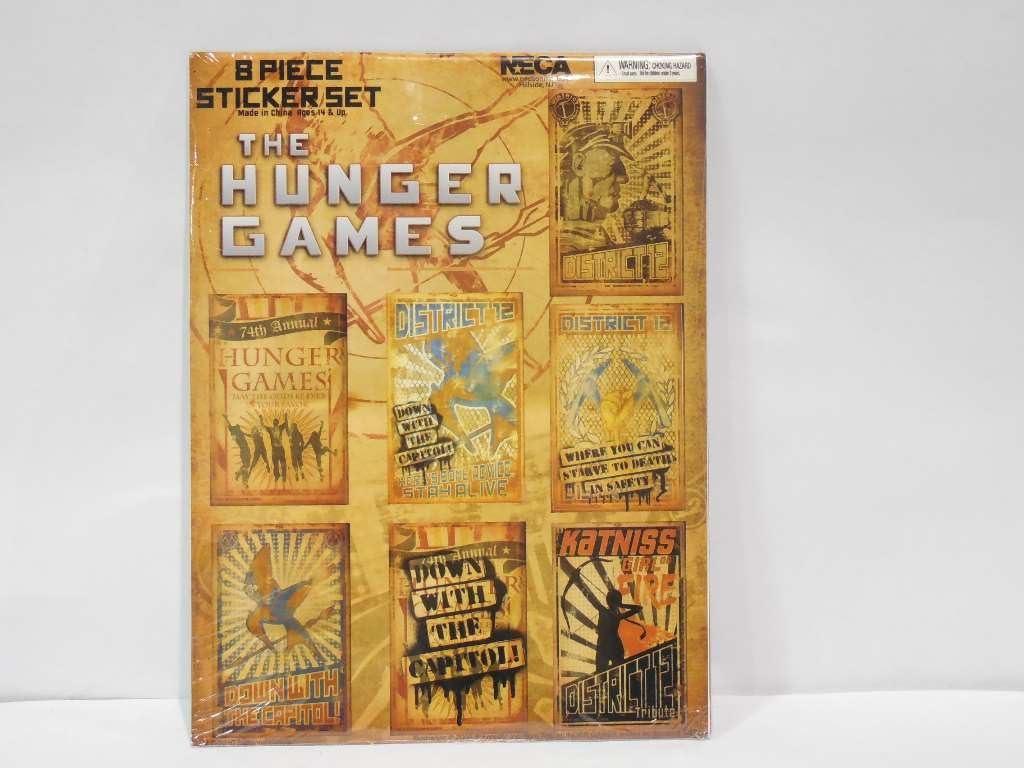 Amazon Com The Hunger Games Sticker Set Propaganda Posters