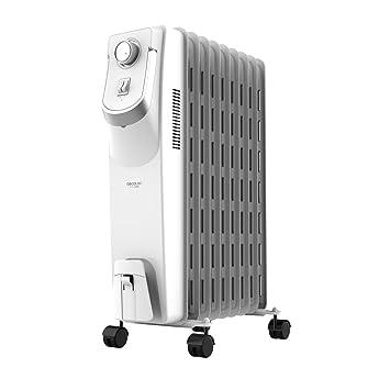 Cecotec Radiador de Aceite de 9 Módulos Ready Warm 5800 Space 360º. 2000W. Bajo