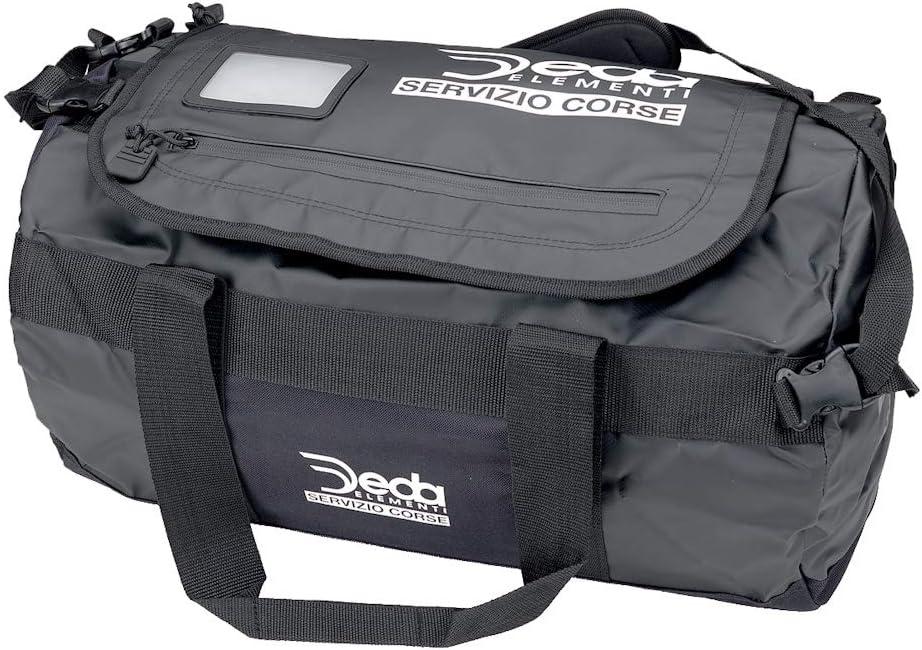 42L Black Deda Elementi Unisexs Servizio Corse Travel Bag