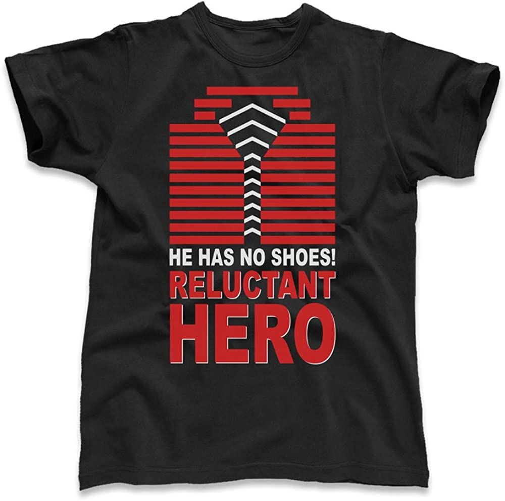 He Has No Shoes Reluctant Hero Die Hard Nakatomi Kid S T Shirt Black X Large Amazon Co Uk Clothing