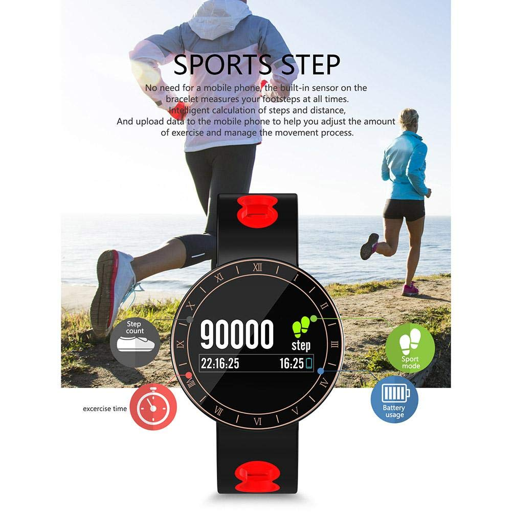 Multi-Function Smart Watch,Fitness Tracker with Heart Rate Monitor ...