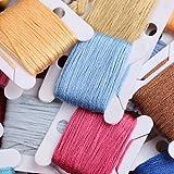 Caydo 152 Pieces Embroidery Thread Floss Set