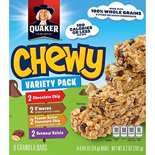 Quaker Chewy Granola Bars Variety Pack, 8 ct