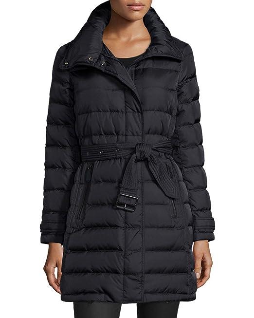 106964ee1 Burberry Brit Winterleigh Mid-length Down Hooded Puffer Coat in ...