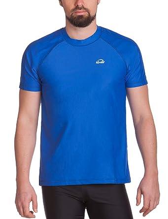 dd599cf345fd iQ UV 300 Loose Fi - Camiseta con manga corta de protección UV para hombre