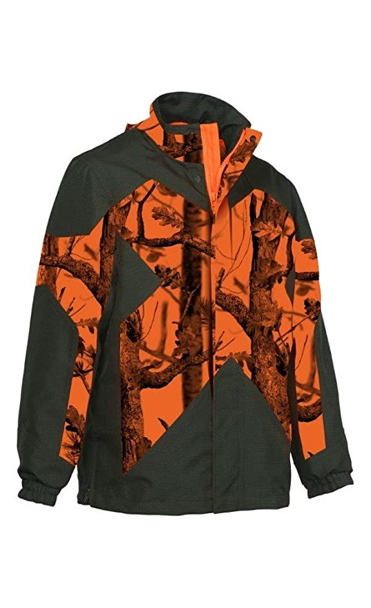 Chaqueta de Caza Percussion Predator 900R ghostcamo, Color Naranja, tamaño Small