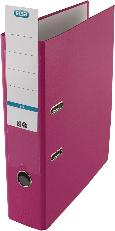 ELBA Ordner smart Pro 8 cm breit DIN A4 pink