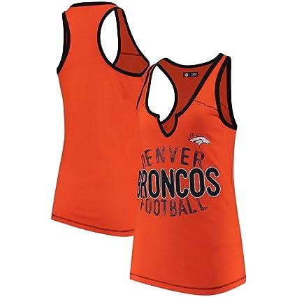 Amazon.com   Denver Broncos Women s Slub Jersey V-notch Racerback ... 79c73b600