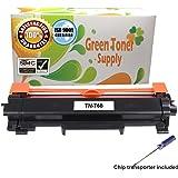 GTS Compatible TN760 Toner cartridge [NO CHIP] Black High Yield 3,000 pages for HL-L2350DW HL-L2390DW HL-L2395DW HL-L2370DW DCP-L2550DW MFC-L2710DW MFC-L2750DW HL-L2370DW XL MFC-L2750DW XL (1Black)