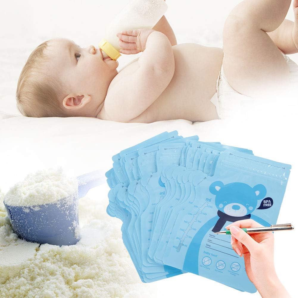 Pre Sterilized BPA Free Disposable Breast-Milk Sealed Bag 30PCS Breast Milk Storage Bag Red