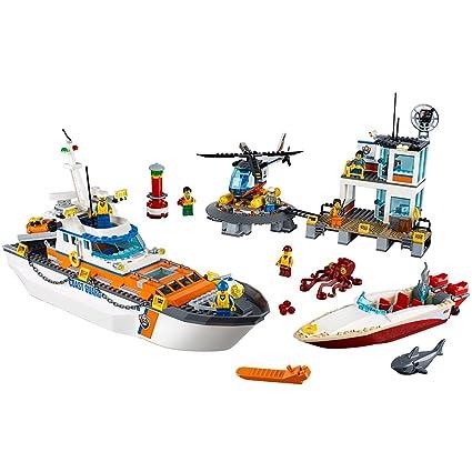 Amazon Lego City Coast Guard Head Quarters 60167 Building Kit