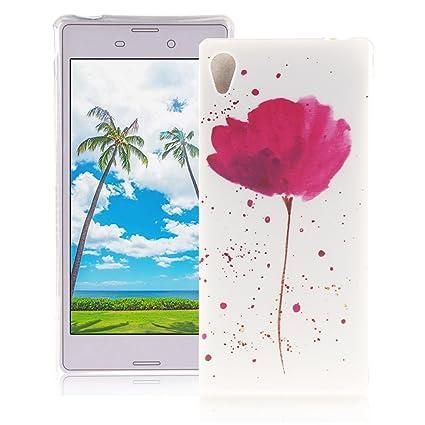 Amazon.com: XiaoXiMi Sony Xperia M4 Aqua Case Rubber ...