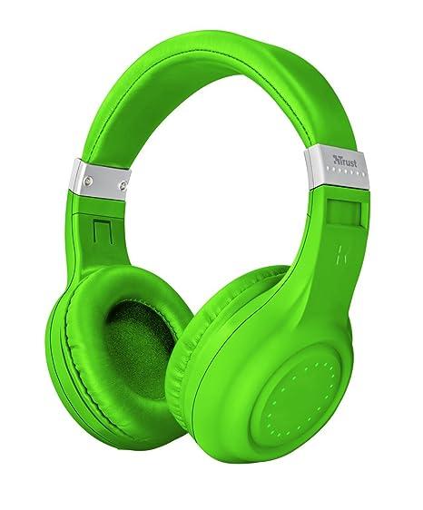 Trust Urban Dura - Auriculares inalámbricos con tecnología Bluetooth, para Llamadas telefónicas y música,