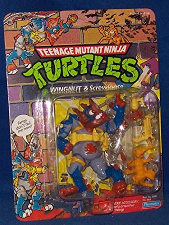 1990 Wingnut - Tortugas Ninja: Amazon.es: Juguetes y juegos