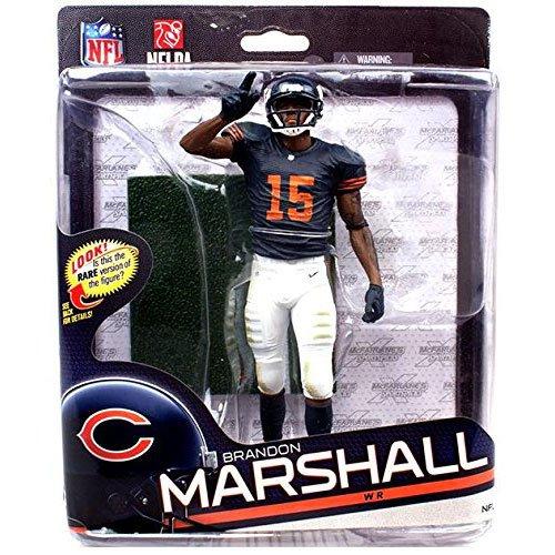 "NFL Sportspicks S34 Brandon Marshall 6"" Bronze Variant Action Figure"