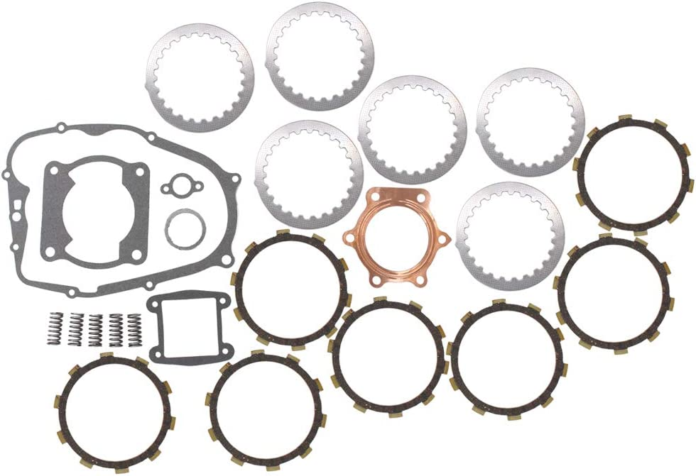 Complete Clutch Kit Cylinderl Head Gasket kits for Yamaha Blaster 200 YFS 200