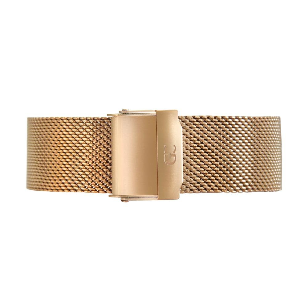 Gelfand & Co. Quick Release Interchangeable Watch Strap Mesh 18mm Rose Gold