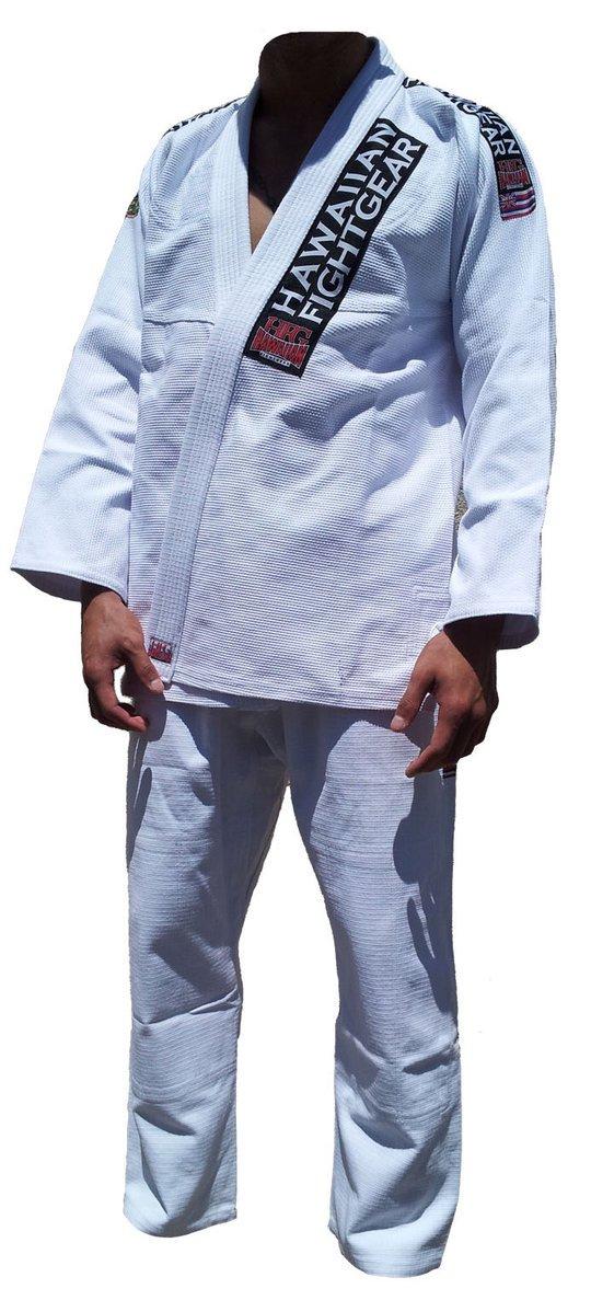 Hawaiian Fight Gear-HFG Hawaiian Brazilian Jiu-Jitsu Pro Lite Gi Adult