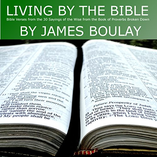 Living by the Bible: 30 Sayings of the Wise from the Book of Proverbs Broken Down -  James Paul Boulay
