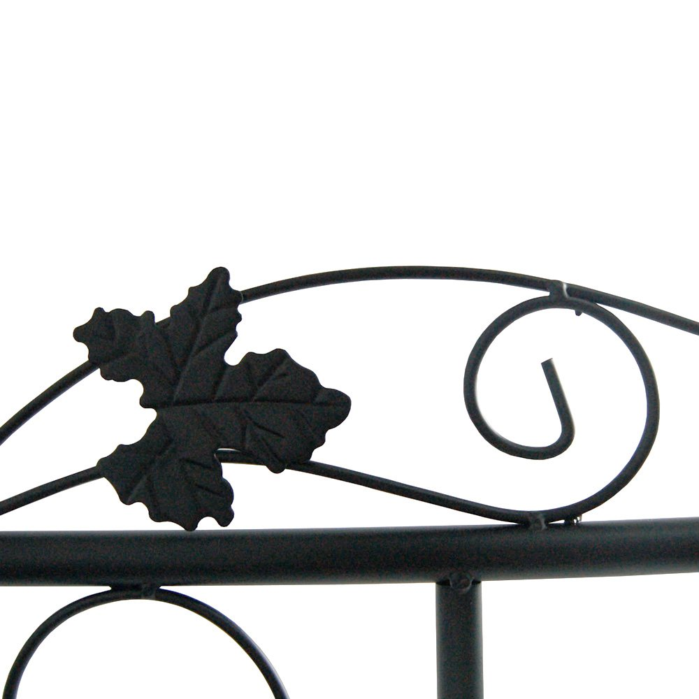 Jago Arco giardino di ferro per rose e piante rampicanti con ...