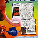 Ice Age Collision Course, Activity Pack - Colouring, Puzzles, Crayons Poster & Stickers
