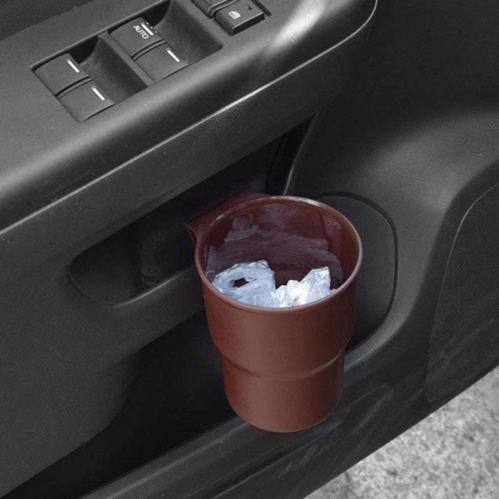 MZY1188 Car Cup Holder,Universal Car Cup Holder Simple Mount Hanging Air Vent Outlet Door Mount Bottle Drinks Holder for Coin Keys Phone Stand Multifunctional Box
