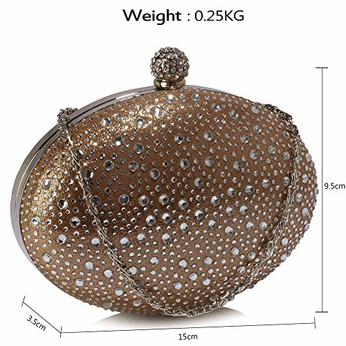 Box Bag Handbag Diamante Sparkly Case Hardcase Party Clutch Hard New Evening Luxury 1 Design Nude Ladies Unxxpwq