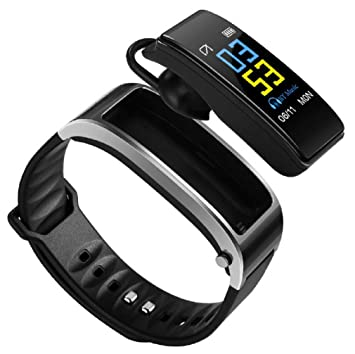 Y3 Smart Bracelet Fitness Tracker 2 en 1 Smartwatch ...