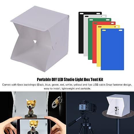 Toptoo Diy Studio Led Boite A Lumiere Kit De Tente Mini