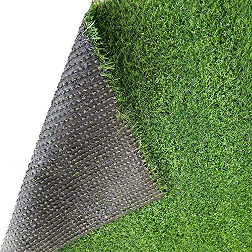 Ecover Artificial Grass,Outdoor Grass Rugs with Neat Edge for Pet Dog,Spring 3/4',84