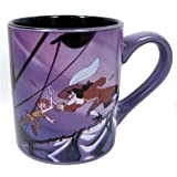 Silver Buffalo PP032 Disney Peter Pan Ceramic Mug, 14 oz, Multicolor