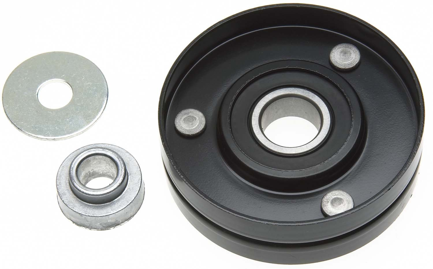 ACDelco 36271 Professional Idler Pulley with Spacer and Washer