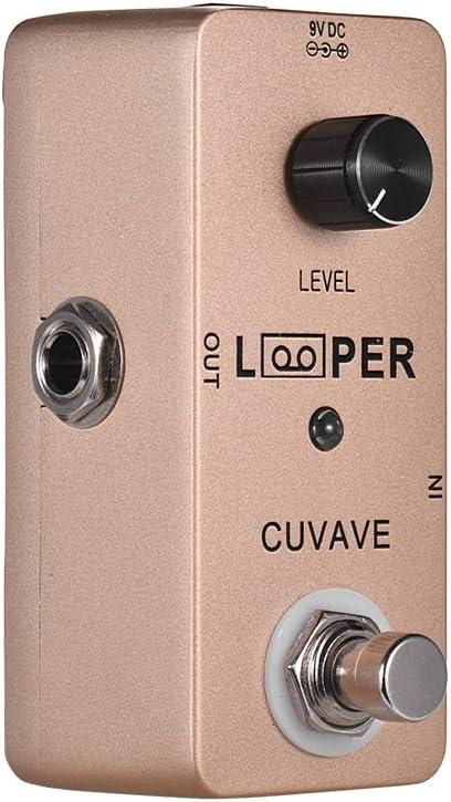 Kalaok Mini Guitar Loop Looper Pedal Max. 5 minutos de tiempo de grabación ilimitado overdubs Full Metal Shell