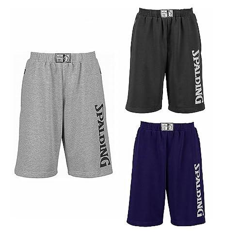 Pantalones cortos de baloncesto Spalding equipo long short corto ...