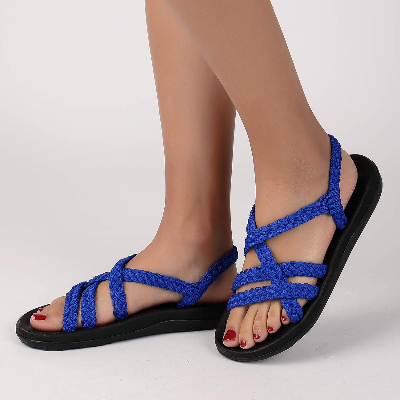 Comfortable Flat Walking Sandals