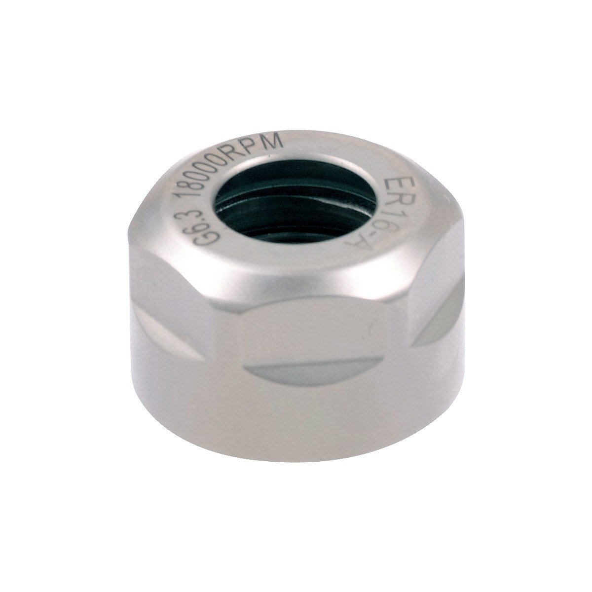 Pro Series by HHIP 3900-0685 Collet Chuck Nut, A-Type Er11, 18000 rpm, 19 mm by HHIP