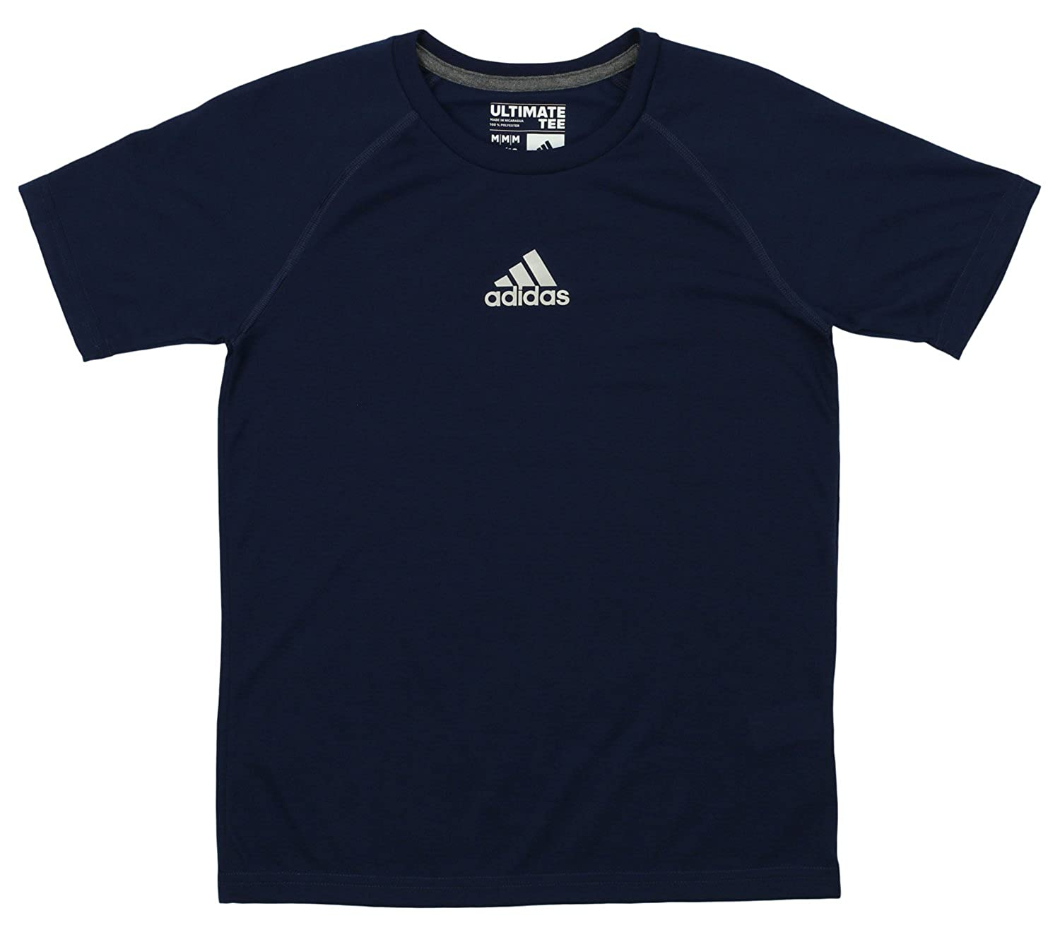 info for e22d6 6e1d8 Top2  adidas Boys 8-20 Youth Ultimate Tee Core Navy Climalite T-Shirt