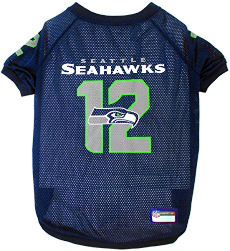 - NFL Seattle Seahawks Jersey for Pets. - Seattle Seahawks Raglan Jersey 12th Man - XX-Large. Cutest Football Jersey for Dogs & Cats