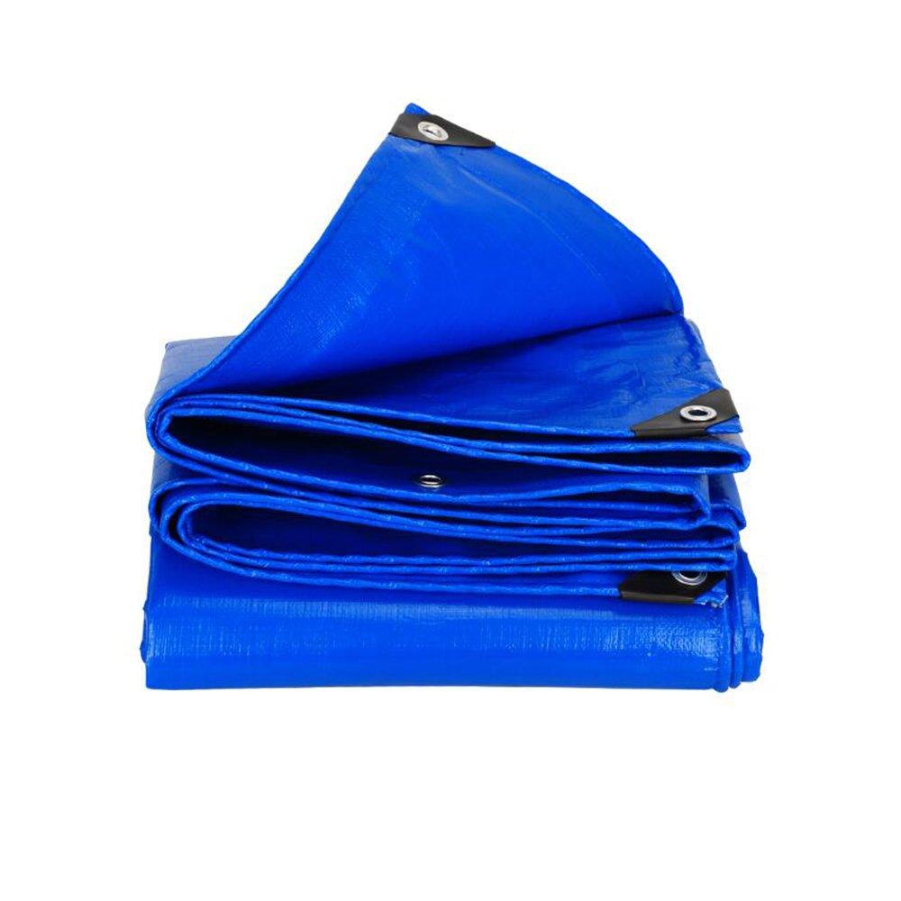 テントの防水シート 屋外\\厚い防水布\\防水日除けターポリン\\日焼け止め天蓋布\\トラック油タンポリン\\キャンバス\\断熱材180g \\㎡(厚さ0.35MM) それは広く使用されています (色 : 6x6m) B07D6MDRBM 6x6m 6x6m