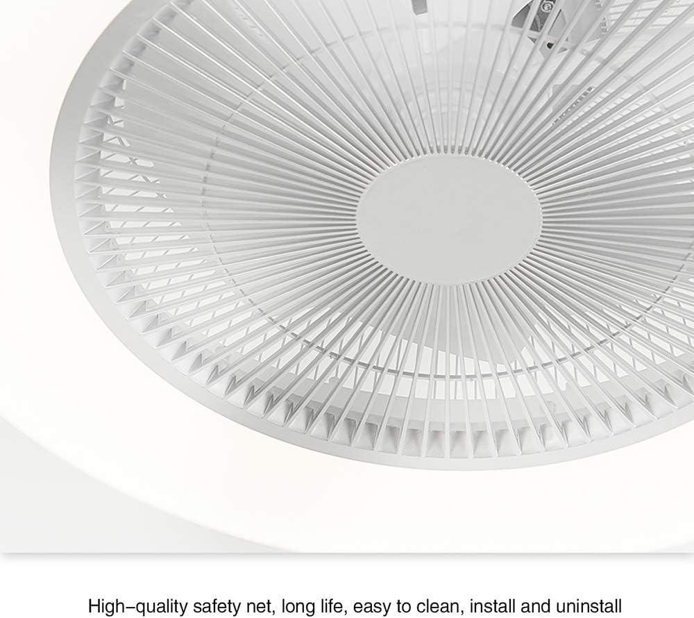Deckenventilator mit Licht LED Dimmen Fernbedienung Lampe f/ür Schlafzimmer