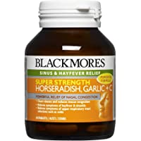 Blackmores Super Strength Horseradish Garlic + C (50 Tablets)