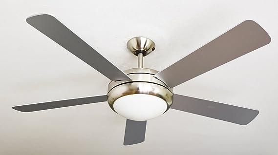 AireRyder Ventilador de techo Ursa con iluminación y control ...