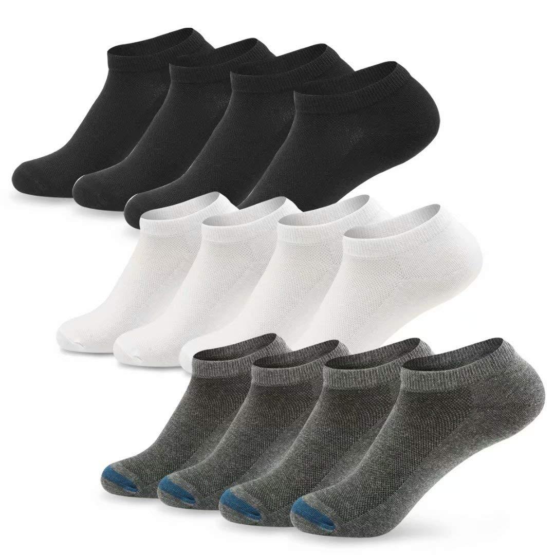 楽天 Srenket SOCKSHOSIERY 006black-white-gray メンズ SOCKSHOSIERY B07JPFFST1 Srenket 006black-white-gray (6 Pair)Sock:10-11.5/shoe:6-10, 大きいサイズ専門店ビッグゴリラ:13374701 --- svecha37.ru