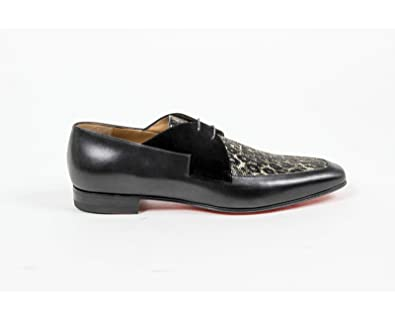 69b3f84c9fe Christian Louboutin Mens Loafer NEW ORLEANS FLAT CALF BROSSE/PAILLE ...