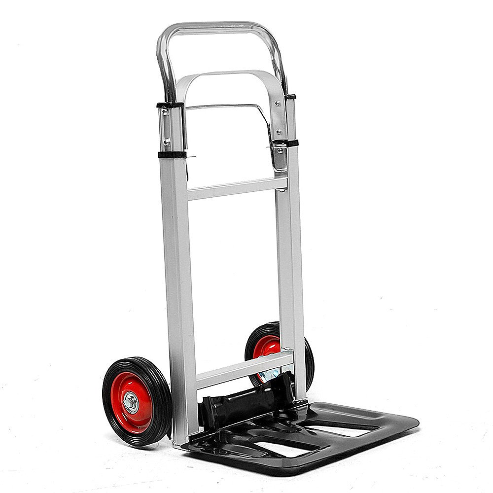 Portable Cart Foldable Trolly Aluminium Hand Truck Trolley Cargo Luggage Carts Shopping Jenify