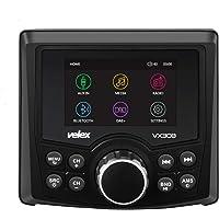 Marine Stereo, Audio Video Player DAB+/FM/AM met Bluetooth Streaming, voor jacht, boot, UTV, ATV, Power Sport, Spa