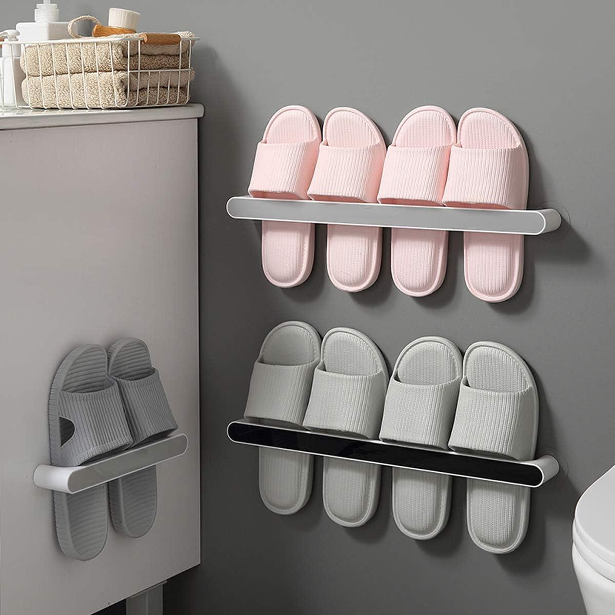 Adhesive Punch-free Plastic Door Hangers Wall Hanger Towel Rack Clothes Hook